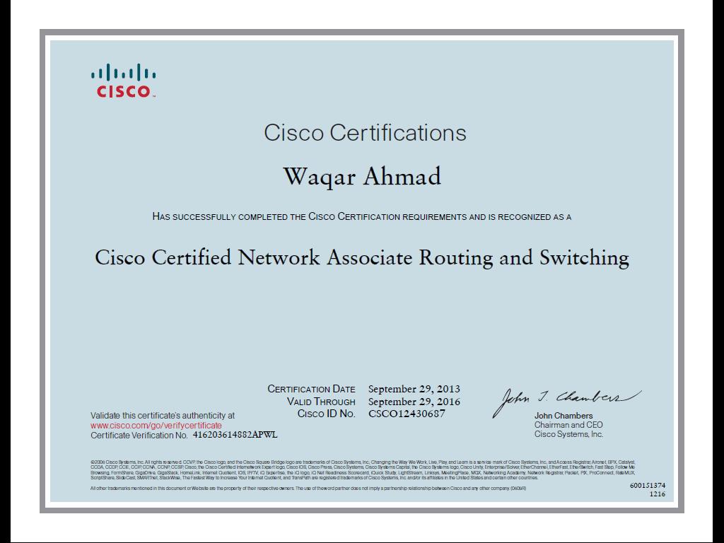 Certified Ccna In Faisalabad Cisco Networking Academy Faisalabad