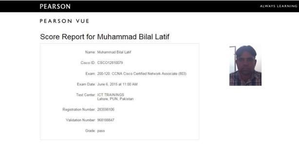 Muhammad Bilal Latif CCNA