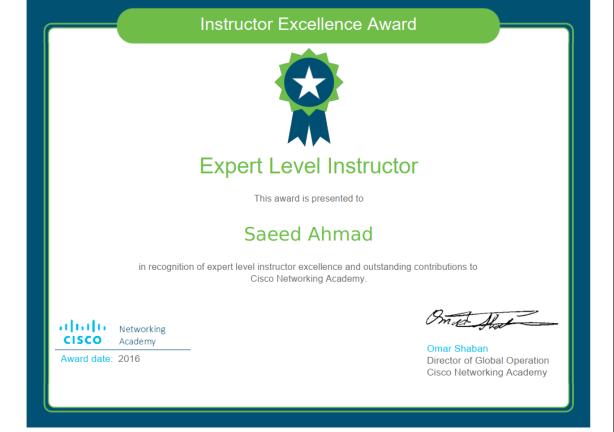 Expert Level 2016