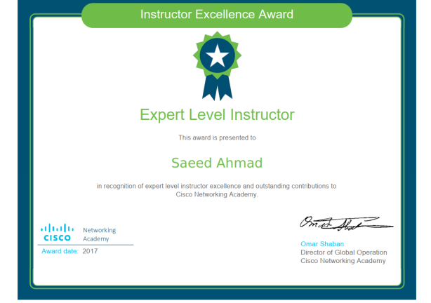 Expert Level 2017